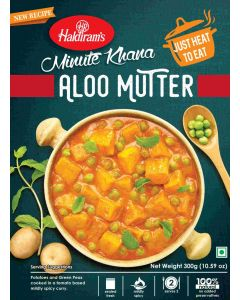 Aloo Mutter (300g) - Just Heat to Eat