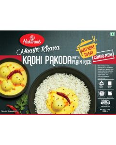 Kadhi Pakora With Plain Rice (375g) - Just Heat to Eat