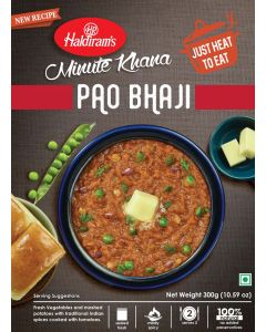 Pao Bhaji (300g) - Just Heat to Eat