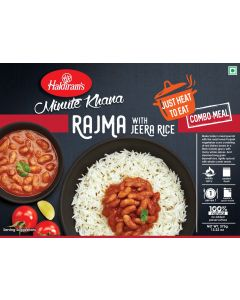 Rajma With Jeera Rice (375g) - Just Heat to Eat